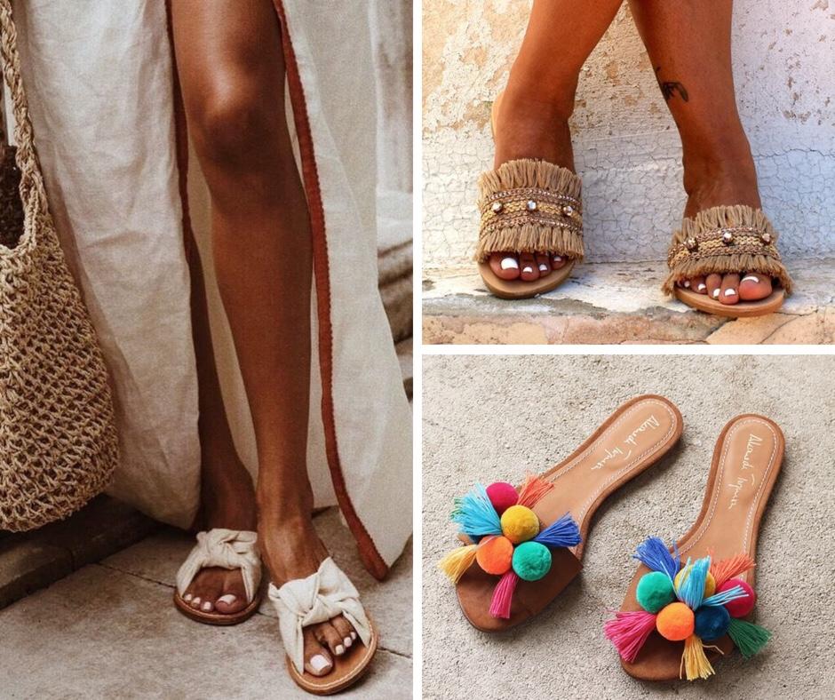 mules scarpe estive scarpe spiaggia